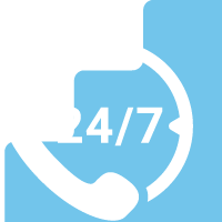 You can call us 24 hours of the day at any time. For emergency call-outs and repairs.